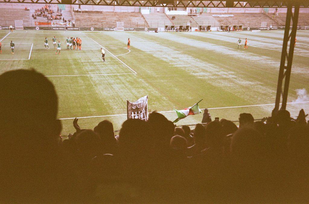 Tribune Red Star Laval football buvette