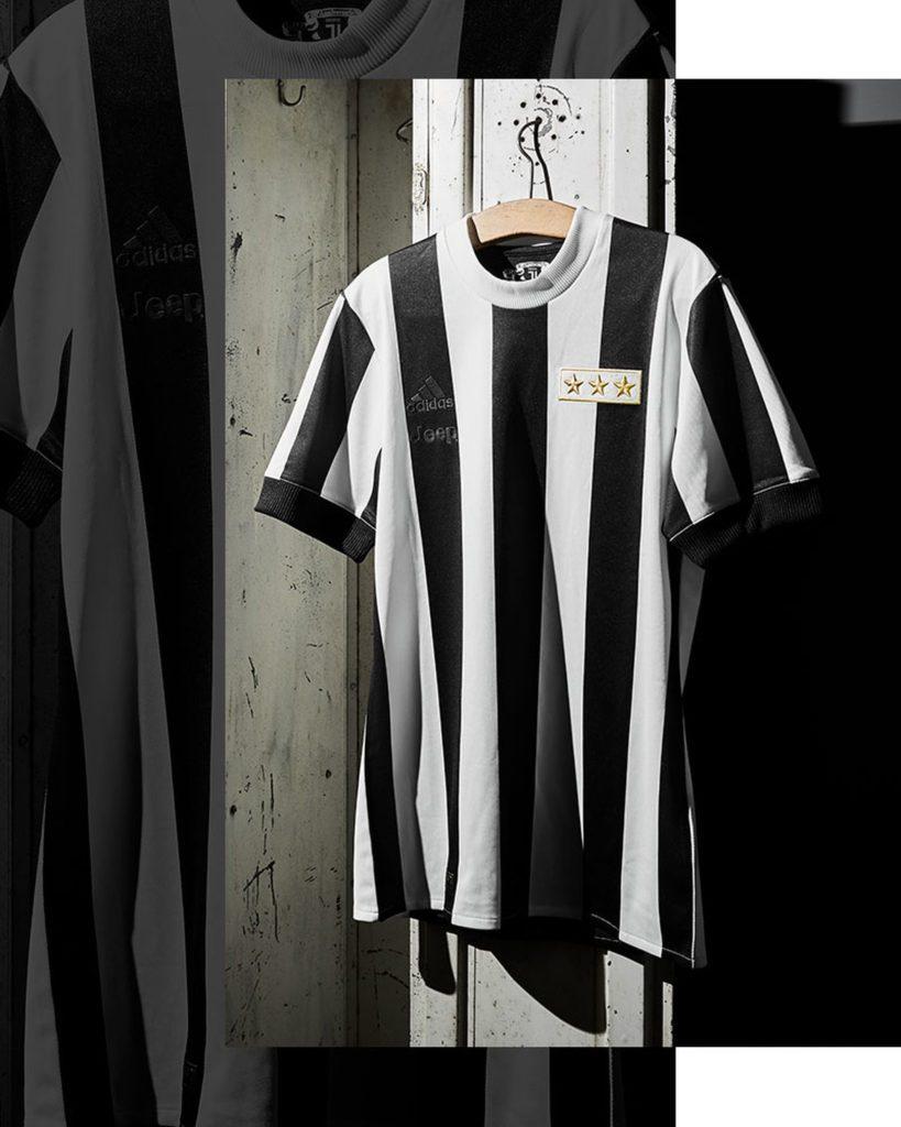La Juve sort un nouveau maillot pour ses 120 ans